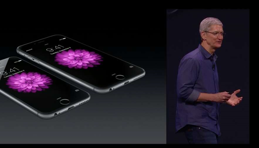 Apple unveils the Watch and larger iPhones