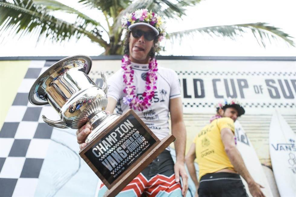 Jordy Smith Wins The Vans World Cup Of Surfing