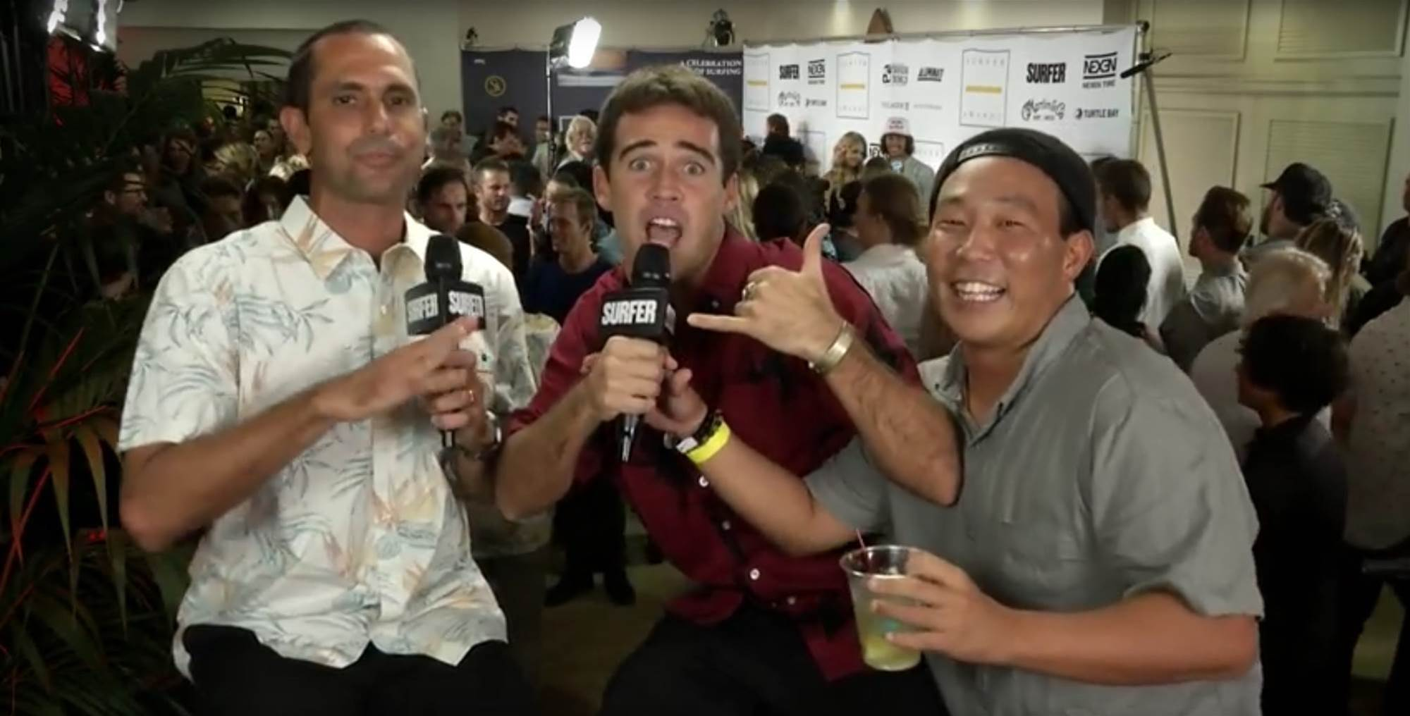 Mason Ho Owned The Surfer Poll Awards Last Night!