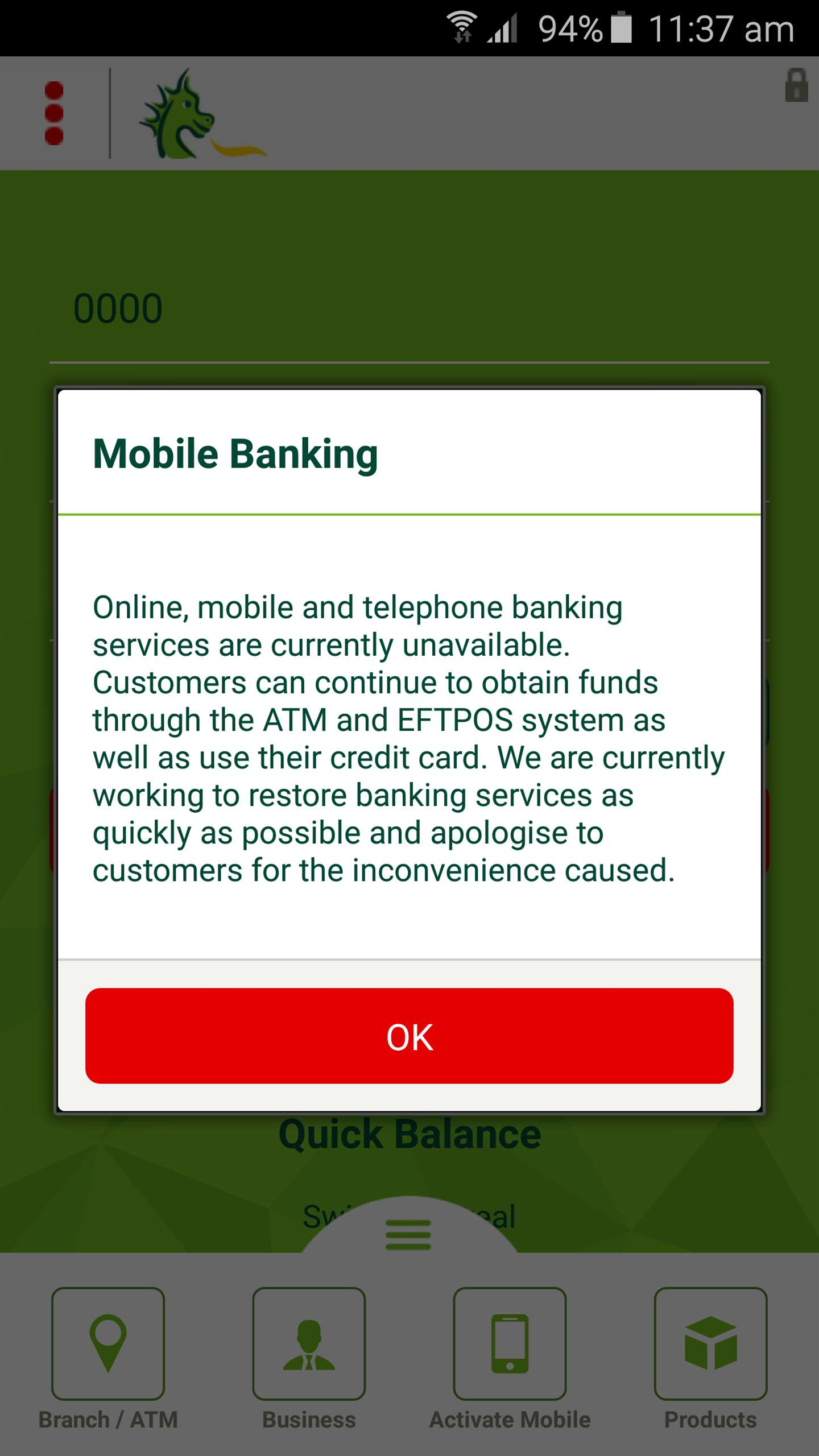 St George online banking goes down over long weekend
