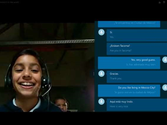 It doesn't speak Klingon (yet) but Skype's live translate feature is now working