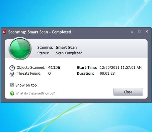 "Comodo Internet Security 5.9 debuts super-fast ""Smart Scan"""