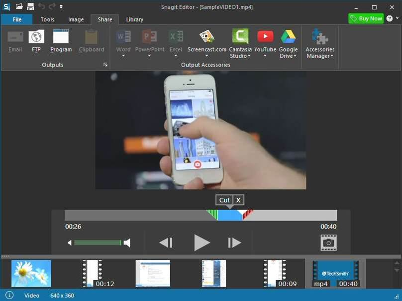Snagit 12 debuts video trimmer