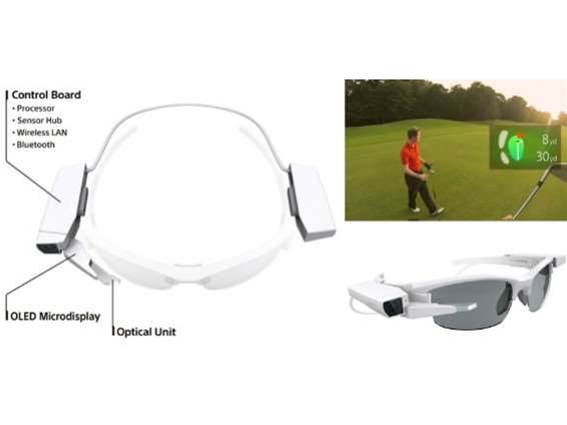 Google any glass(wear) with Sony's display module