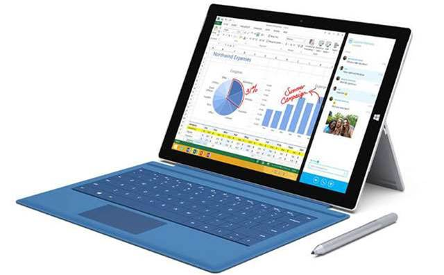 Surface Pro 3 issues fixed with update