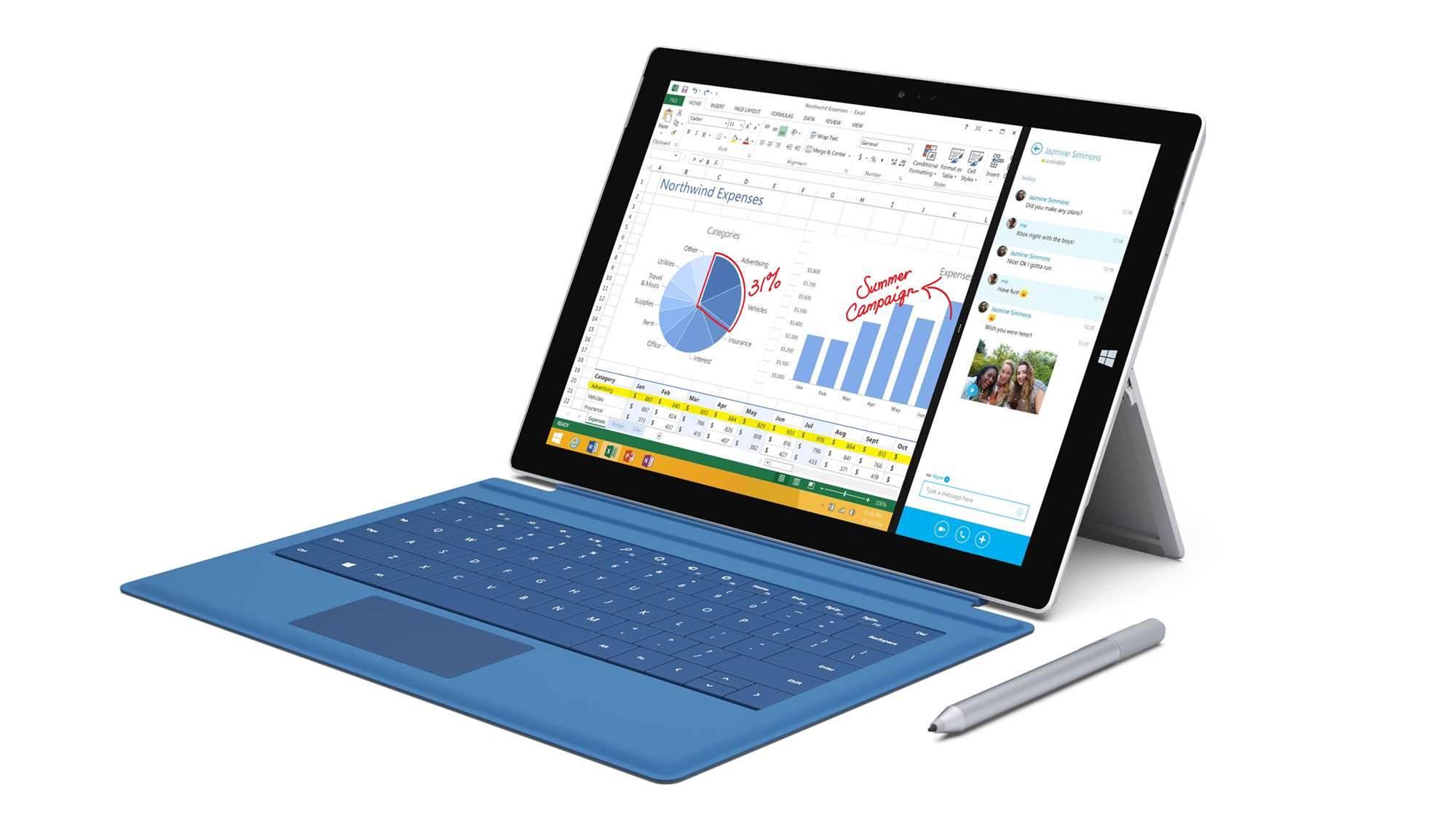 Microsoft unveils Surface Pro 3