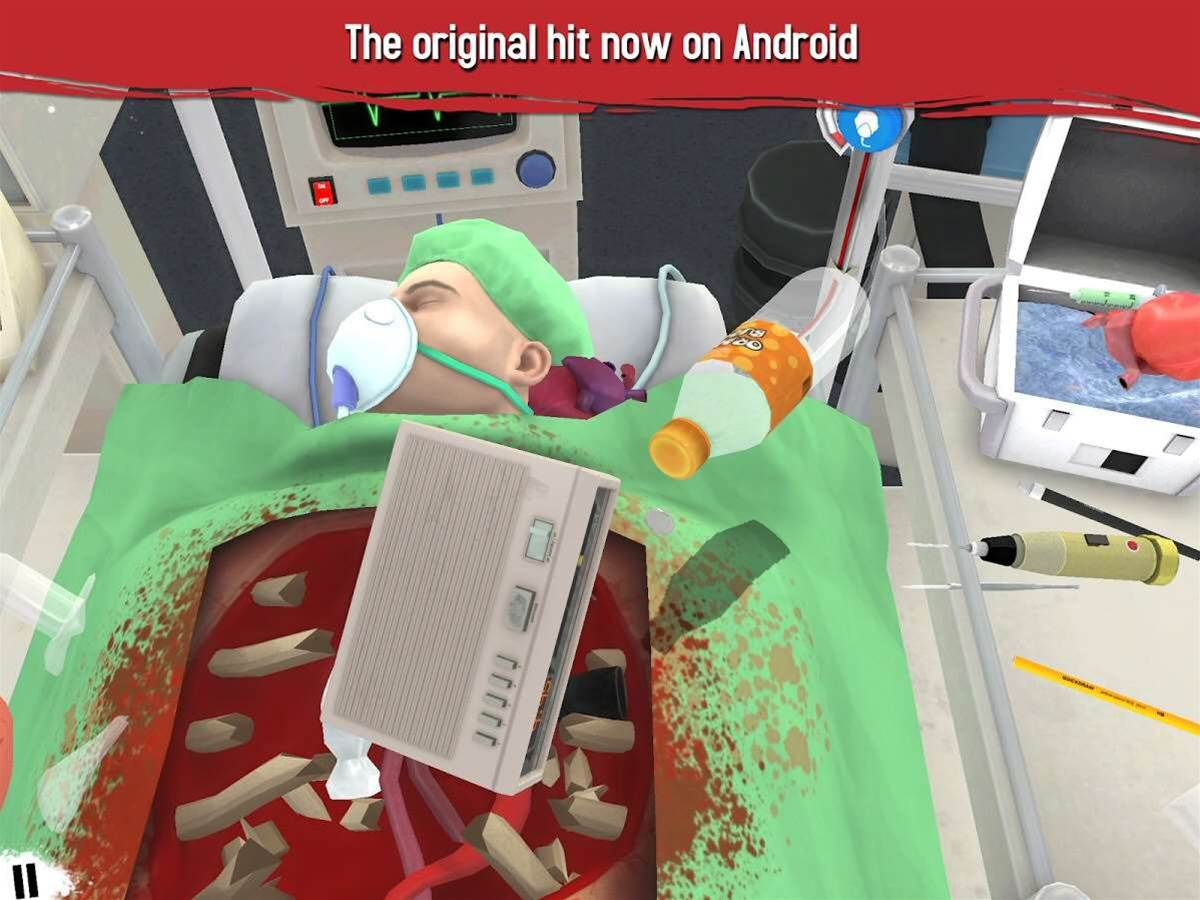 Surgeon Simulator out now on Android