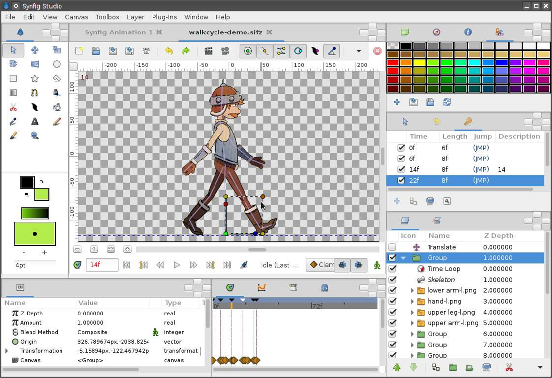 Synfig Studio's 2D animation suite hits version 1.0