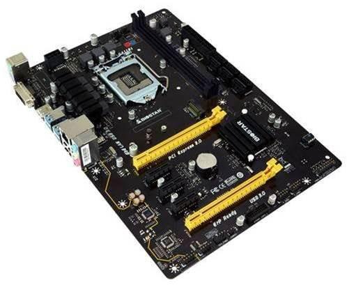 New Biostar TB150 Pro motherboard targets Bitcoin miners