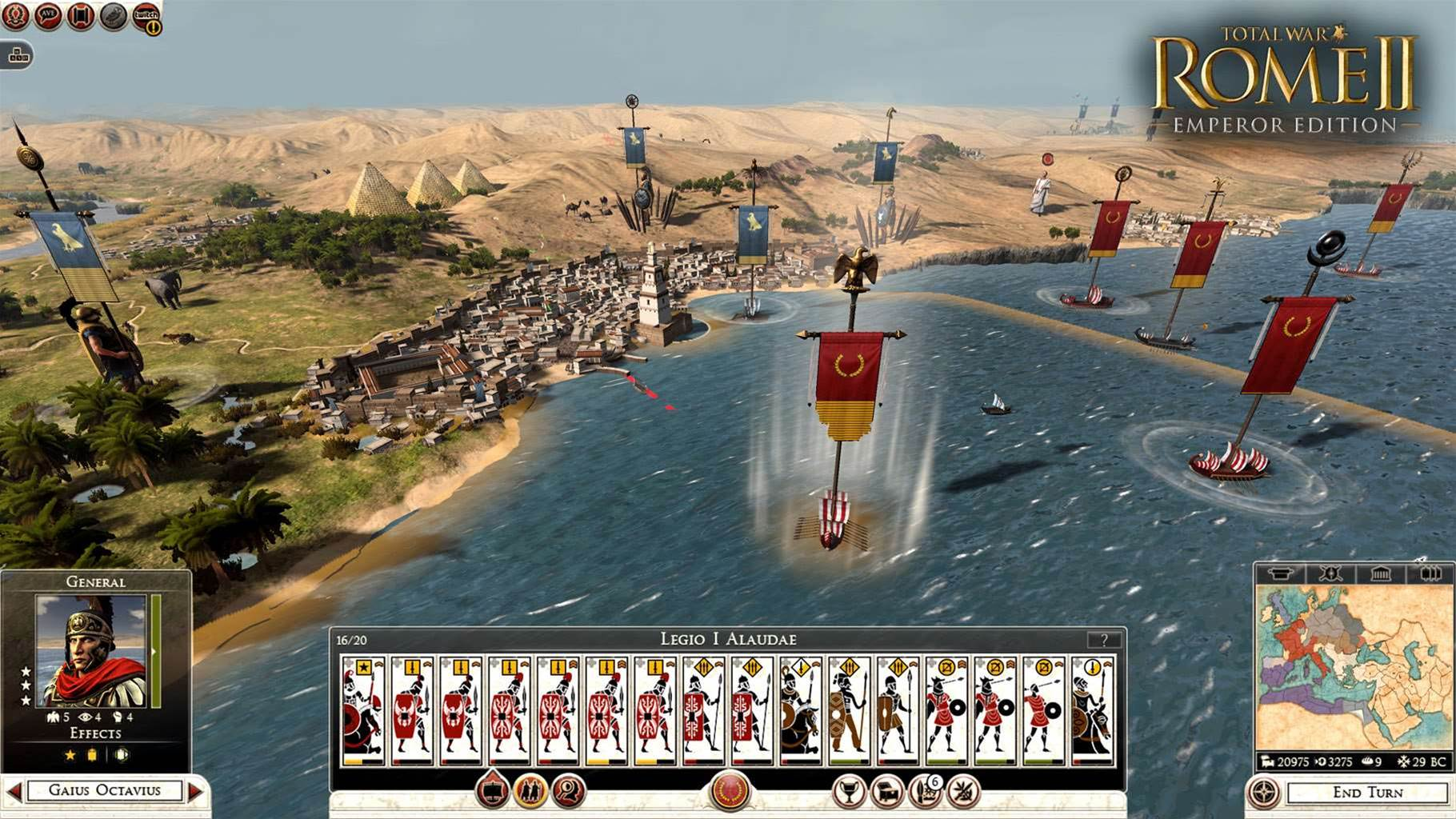 New Rome II expansion coming soon