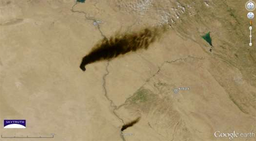 Big Pic: Terrorism In Iraq, Visible From Space
