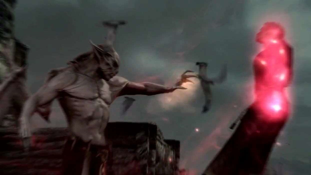 Skyrim: Dawnguard trailer takes umbrage with the sun