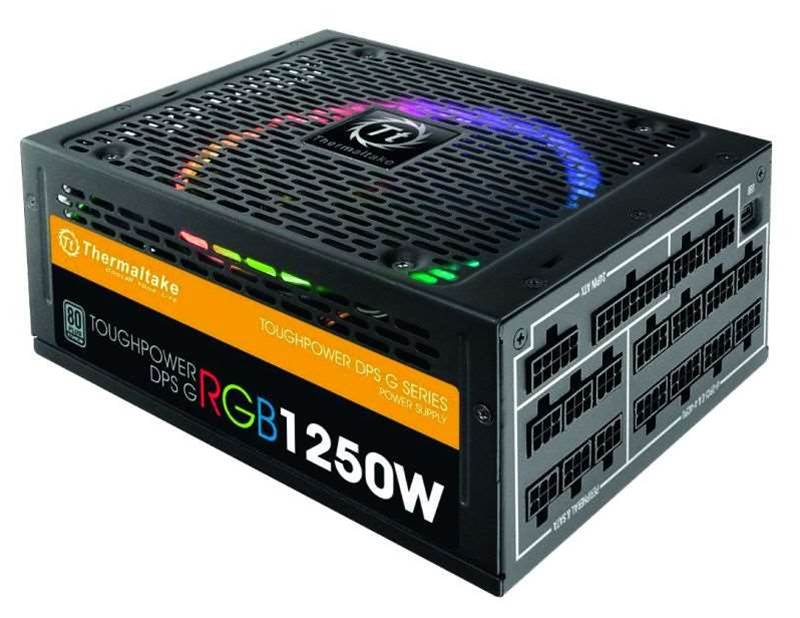 Review: Thermaltake Toughpower DPS G RGB 1250W Titanium