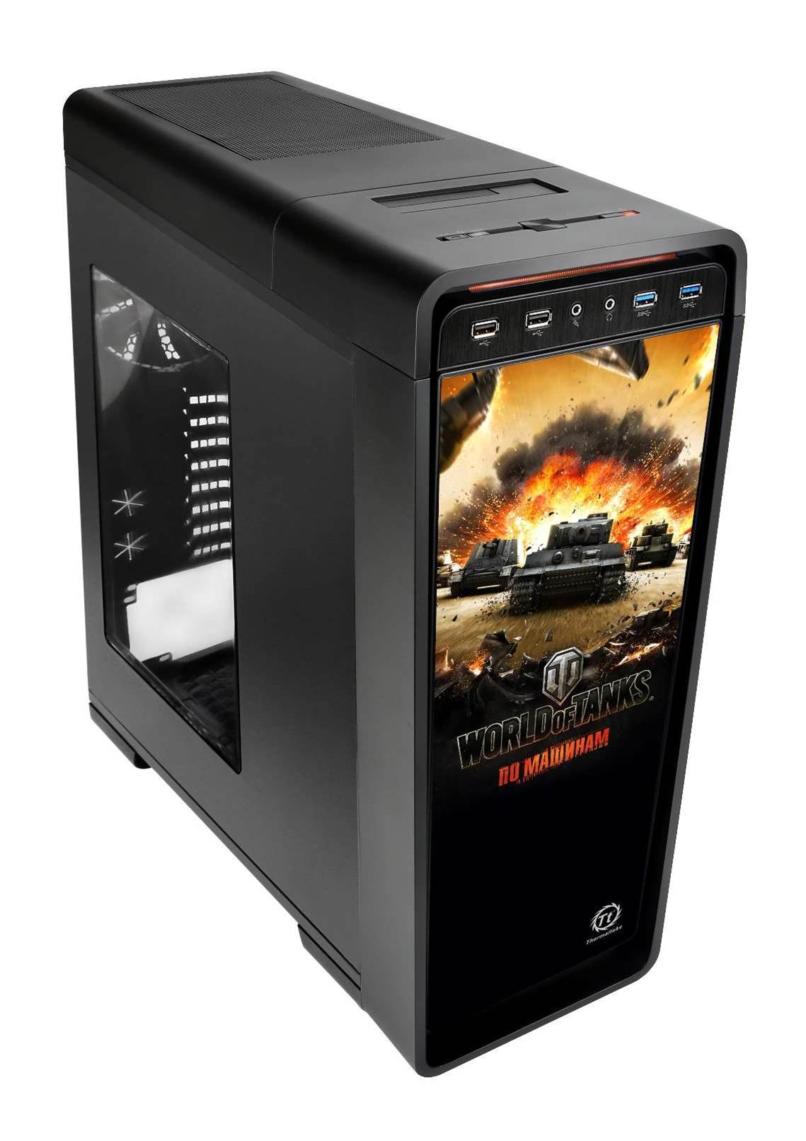 New ThermalTake case aimed at World of Tanks die-hards