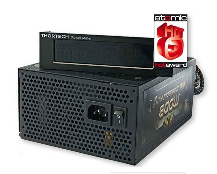 Thortech's Thunderbolt Plus 800W PSU comes out swinging!