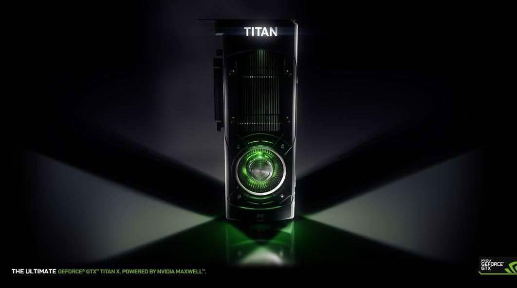Nvidia Announces Titan X Supercard