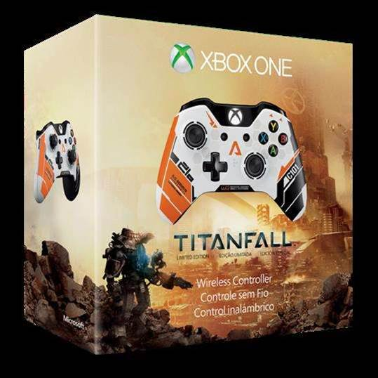The limited edition Titanfall Xbox One controller is 'a piece of history'