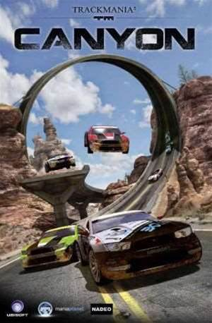 TrackMania2 Canyon - madness in a musclecar