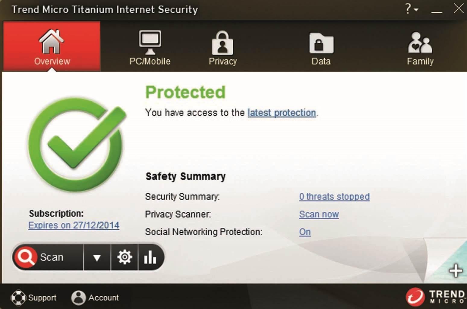 Trend Micro Titanium Internet Security 2014