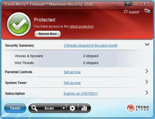 Titanium 2012 Internet security software adds new line of defence
