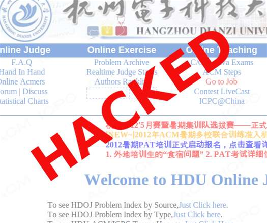 Chinese uni hacked, 150,000 accounts dumped