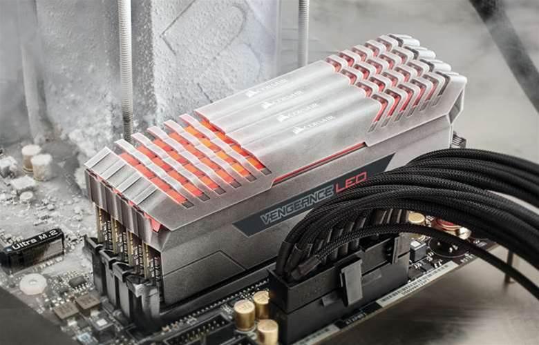 Corsair releases new LED-lit Vengeance memory kits