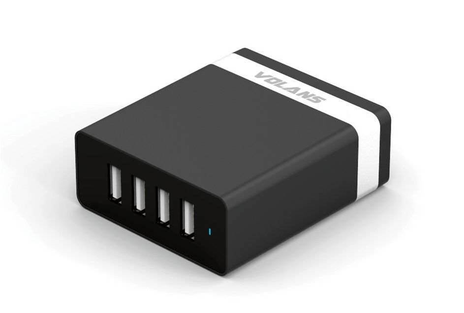 One Minute Review: Volans 4-Port USB Smart Charger