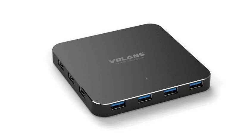 One Minute Review: Volans 10 Port  USB 3.0 Hub