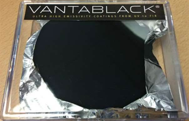 Vantablack is the world's darkest material