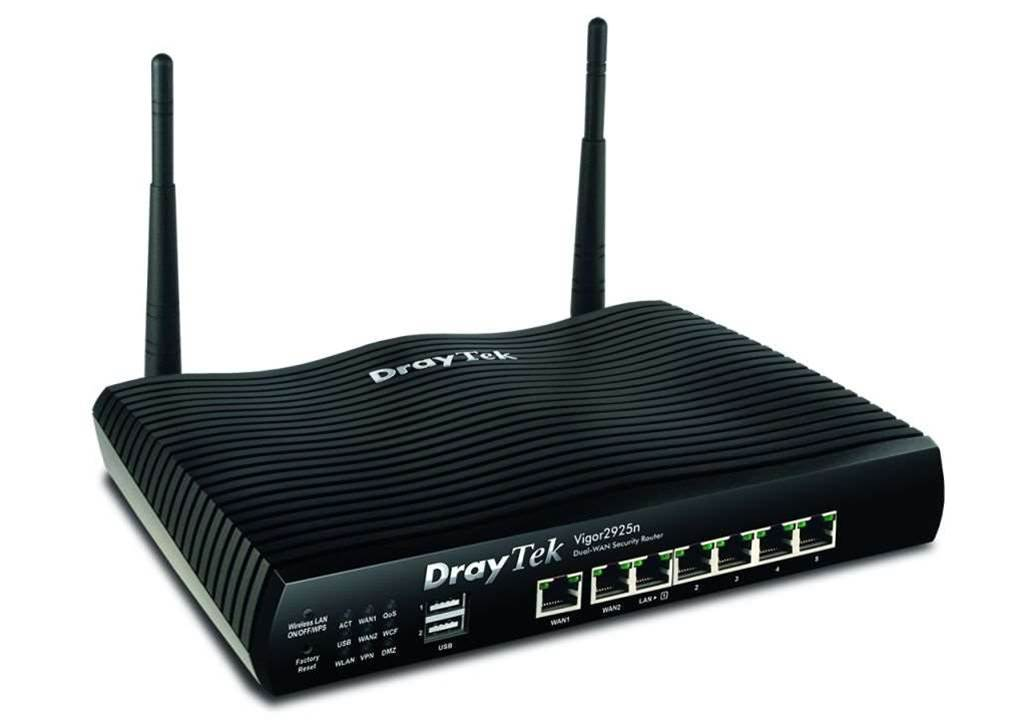 Review: DrayTek Vigor2925ac Dual-WAN Security Router