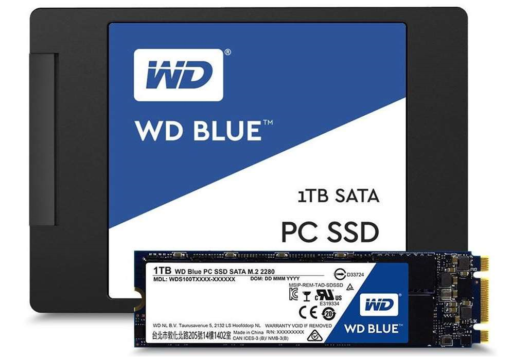 Western Digital reveals new Blue and Green SSD drives