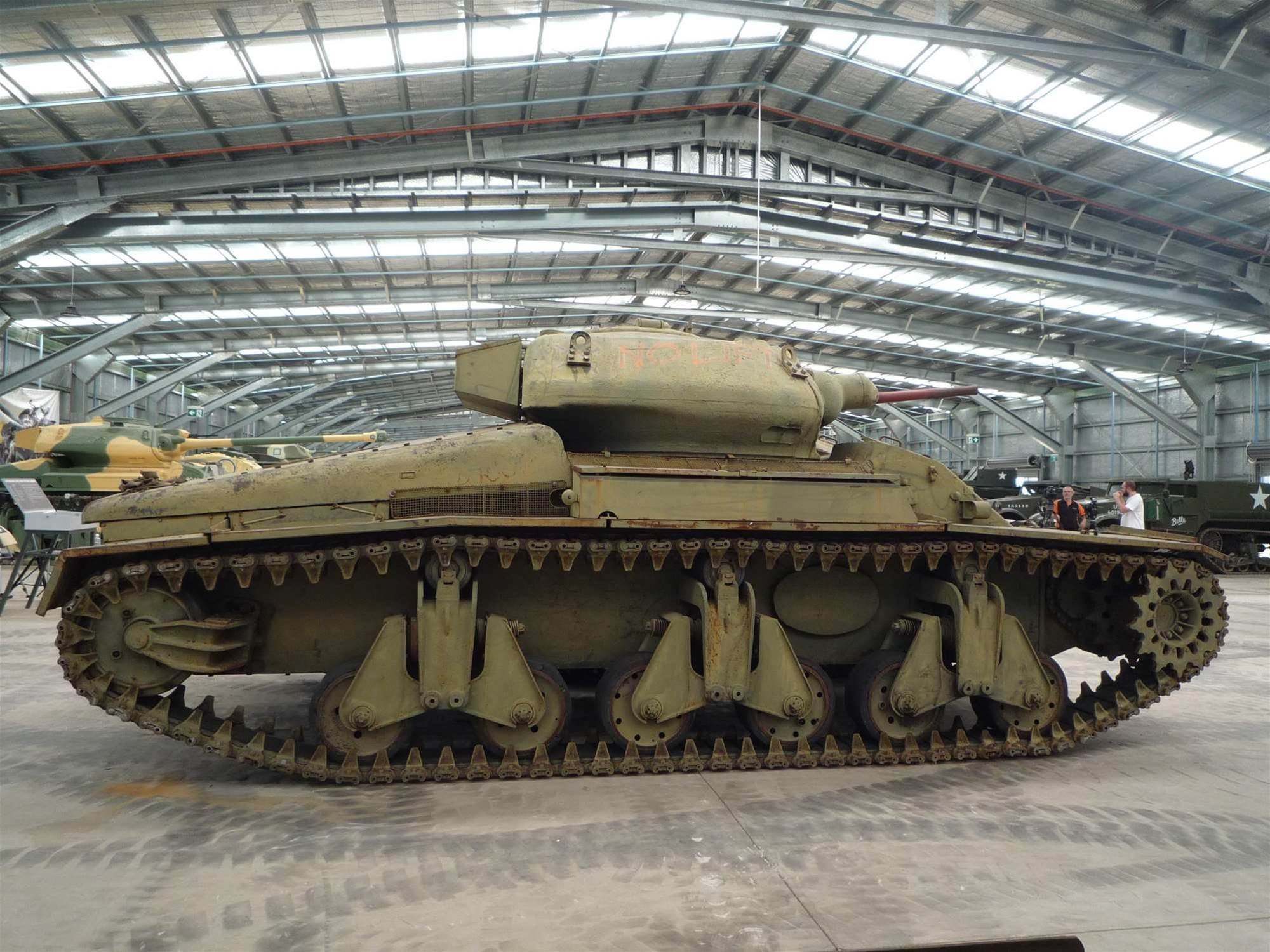 World of Tanks developer brings a classic Australian tank back home