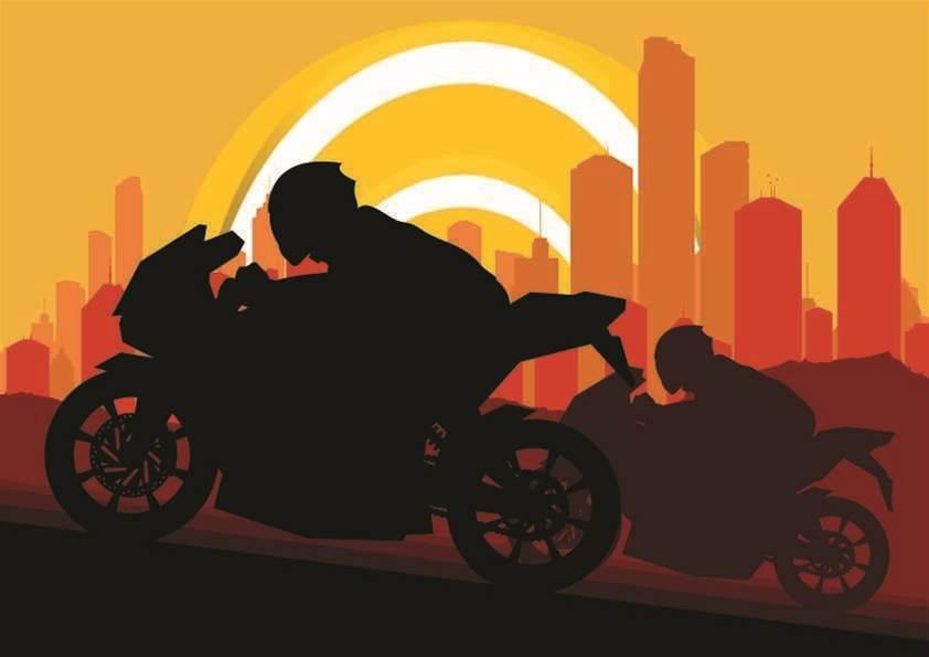 Penetration tester builds wardriving motorbike