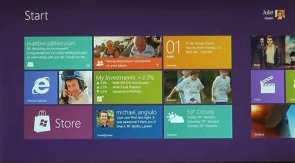 Windows 8 works on all Windows 7 PCs
