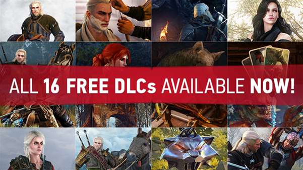 Last piece of free Witcher 3 DLC out now