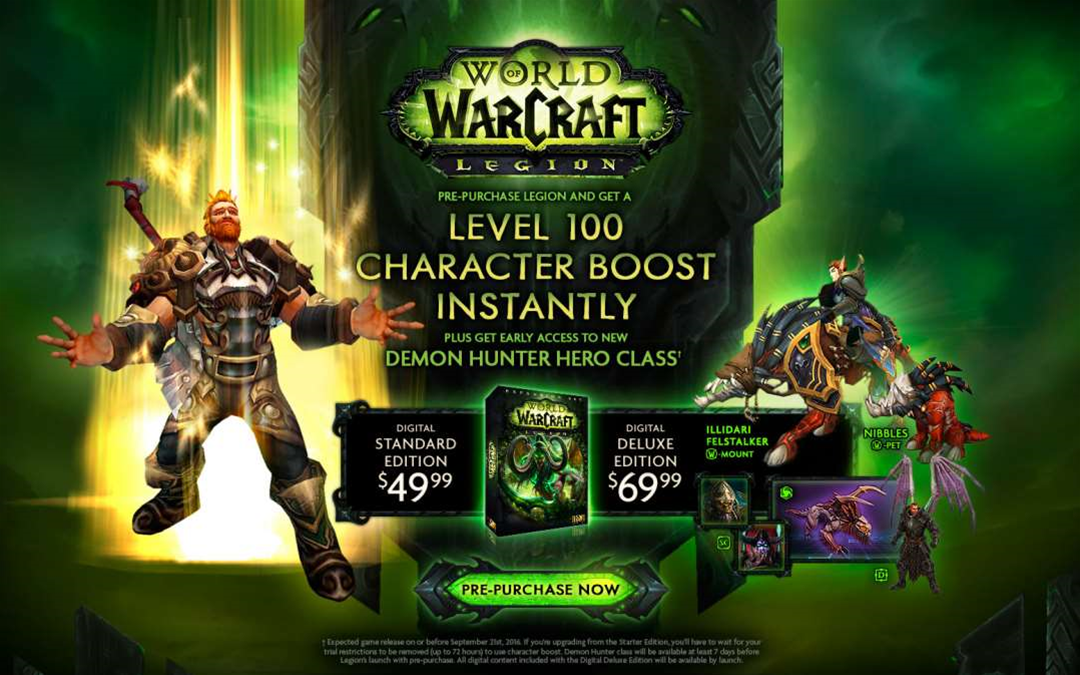 World of Warcraft: Legion expansion confirmed