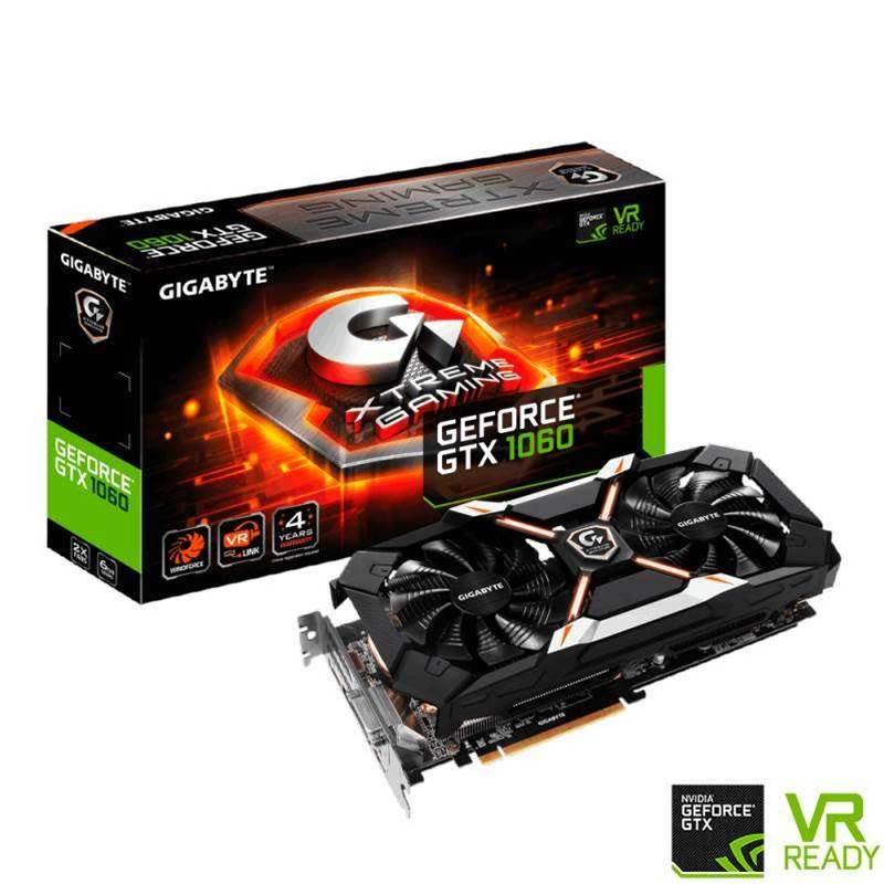 Gigabyte's releases XTREME GAMING edition the GTX 1060