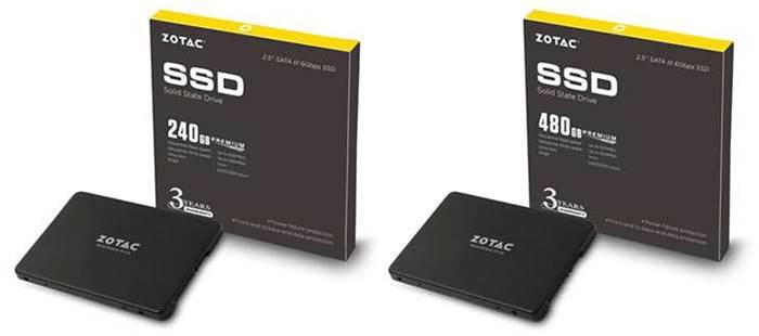 Zotac announces Phison controller-based SSDs