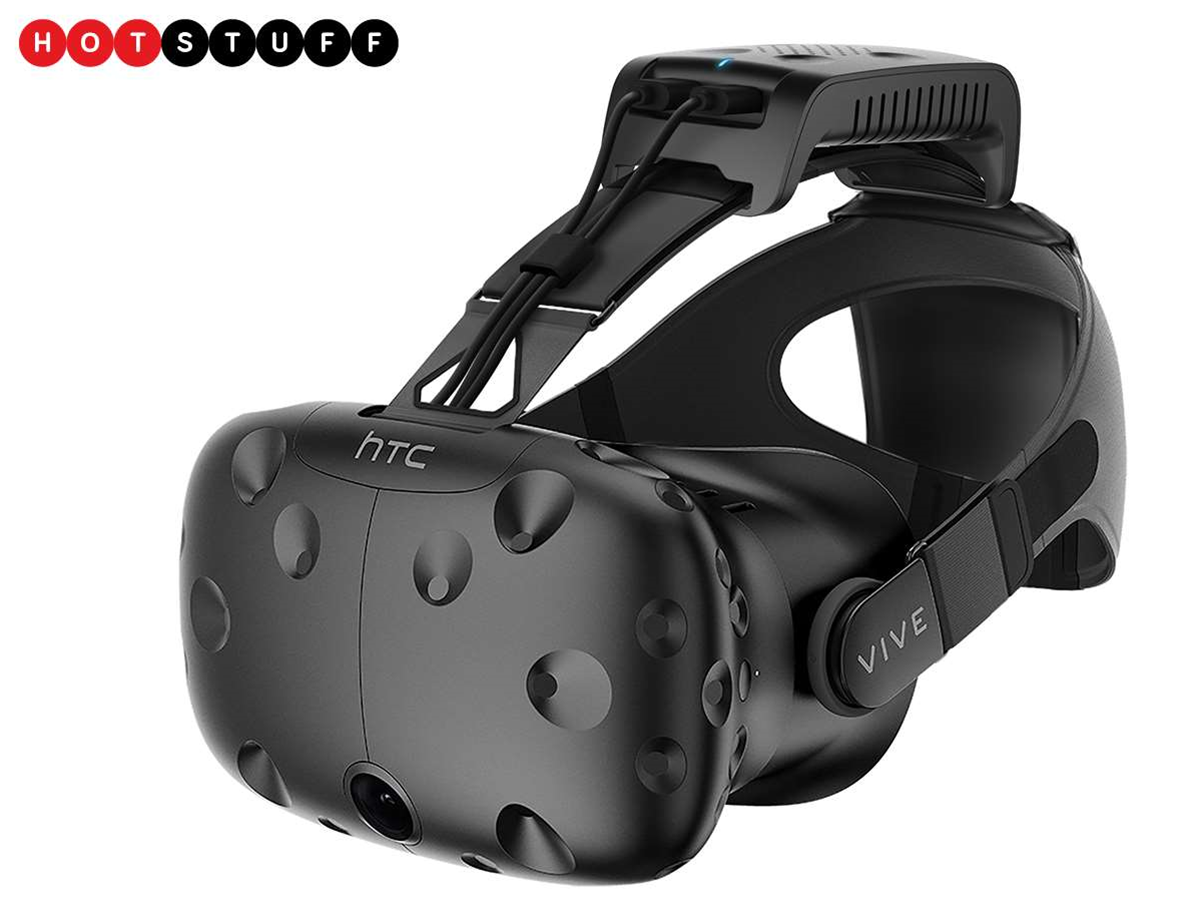 This Vive wireless kit sets you free