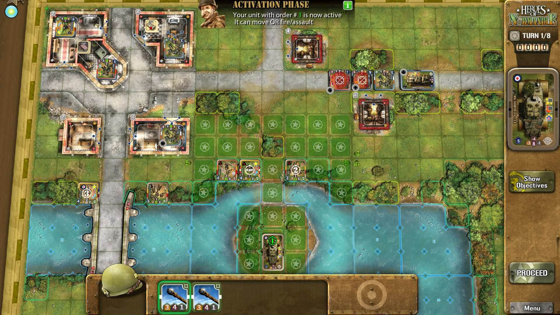 Digital boardgame Heroes of Normandie coming to PC next month