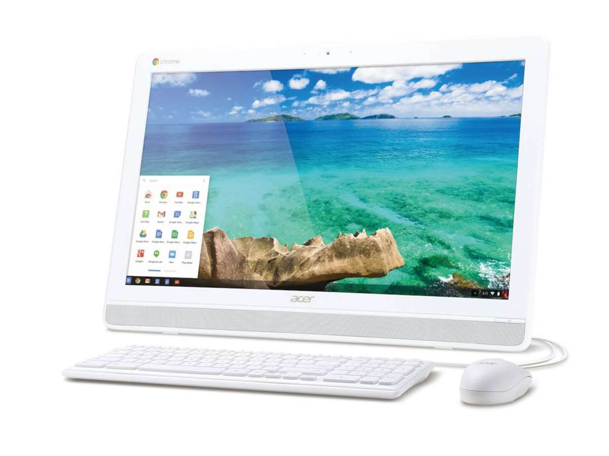 Acer's Chromebase all-in-one features a 21.5in, 1080p touchscreen