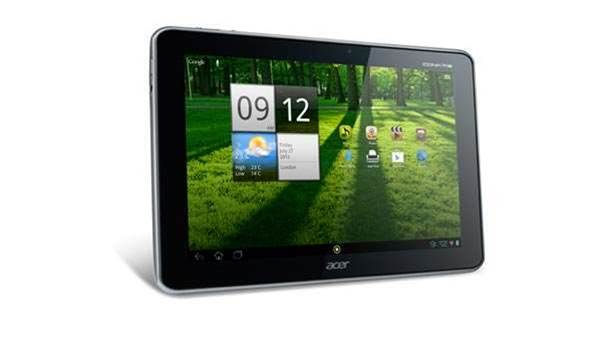 Acer unveils high-res iPad rival