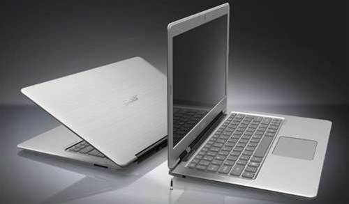 "Acer's debut Ultrabook boasts 50-day ""deep sleep"" battery"