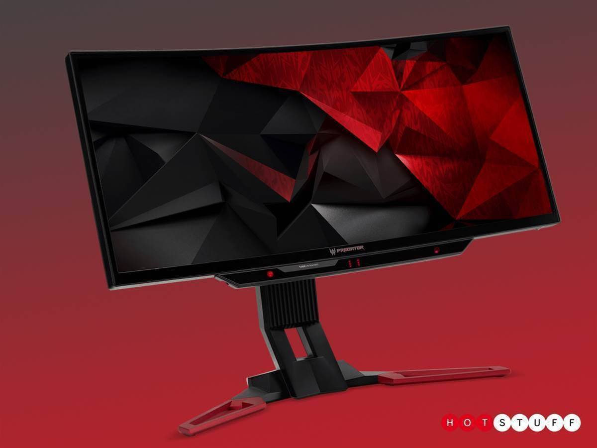 Acer's curved monitor tracks your eyes as you play