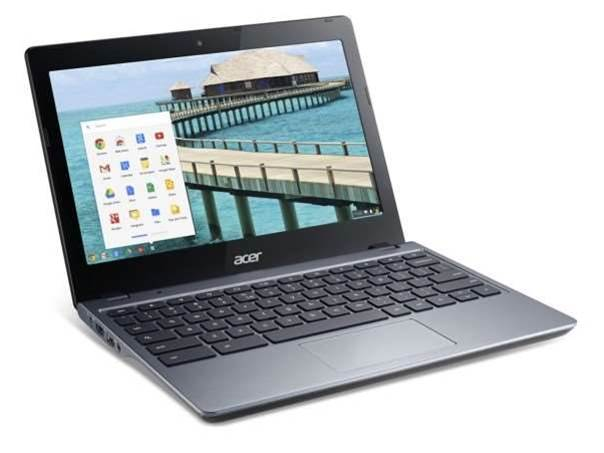 Acer's new C720 Chromebook gets an Intel Core i3 chip