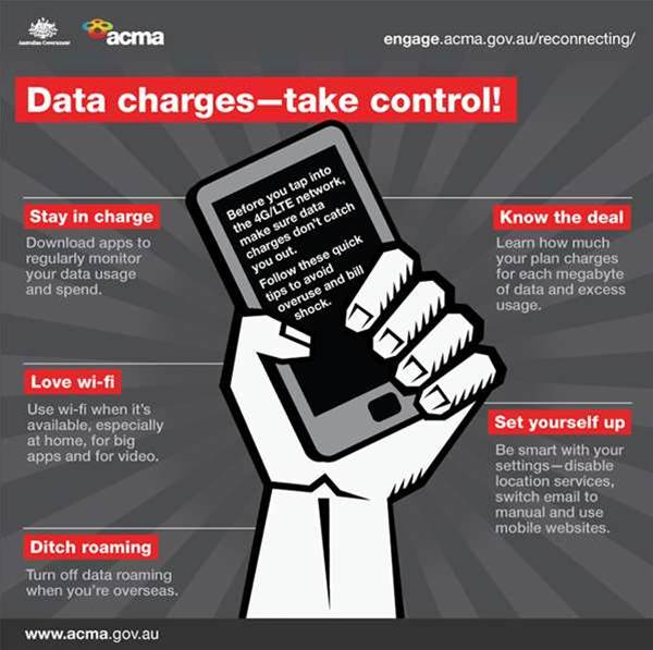 ACMA introduces standard to target roaming bill shock