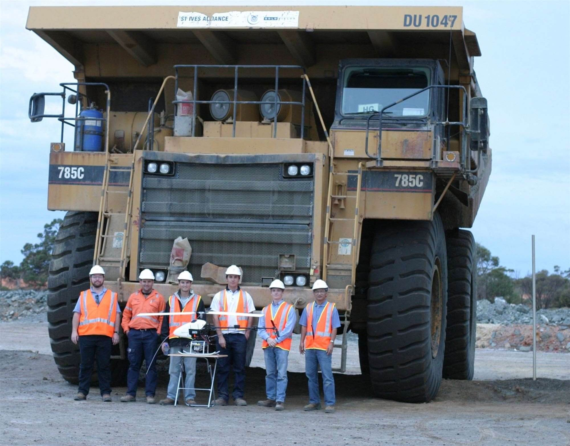 Mining drones bridge workplace safety concerns
