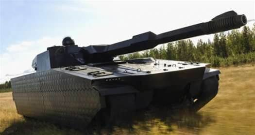 Video: Cloaking System Makes Tank Invisible to Infrared Sensors