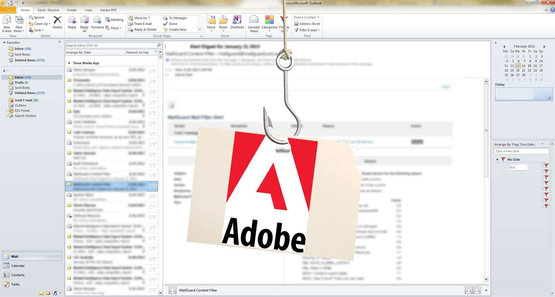 Adobe Reader zero day used in phishing attacks