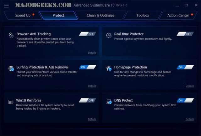 IObit Advanced SystemCare 10 recognises intruders with new FaceID